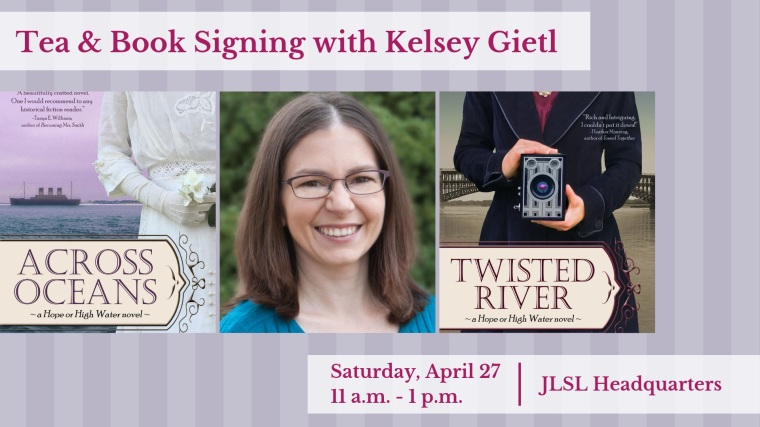 Tea & Book Signing with Kelsey Gietl FB Event Cover